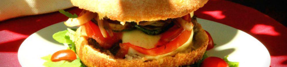 """Le burger des 2 gourmands """"disent"""""""