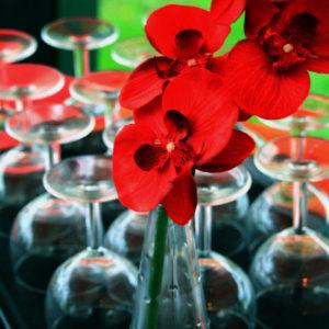 Décoration fleurie des traiteurs gourmands
