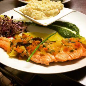 nous aimons utiliser nos produits locaux et mettre en valeur le patrimoine culinaire occitan