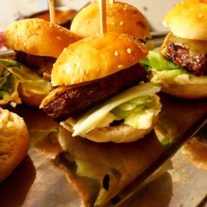 Mini-burgers du chef Marco pour buffet et apéritif dinatoire