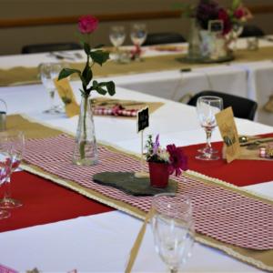Décoration pour mariage champêtre par les 2 Gourmands